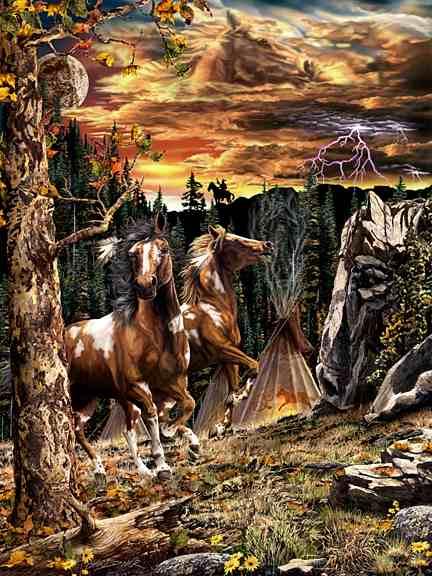 14 лошадок