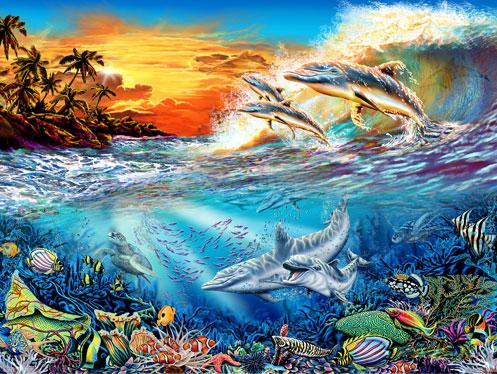 19 дельфинов