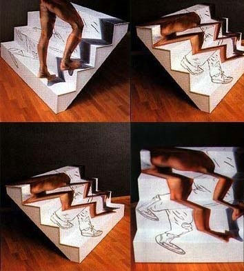 Объемная лестница