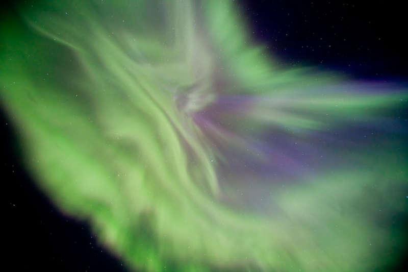 Цветочное полярное сияние