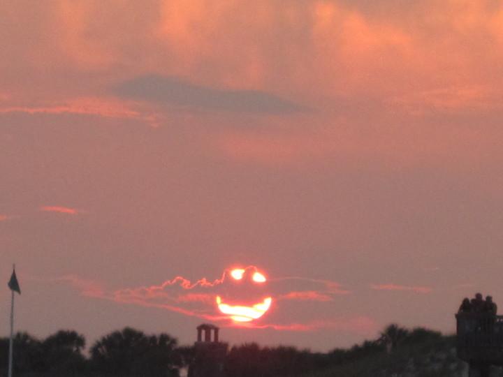 Солнышко вам улыбнулось