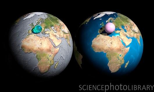 Земля, вода и воздух