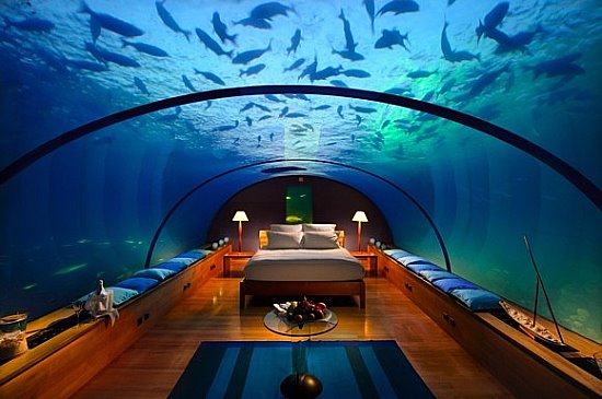 Необычная спальня
