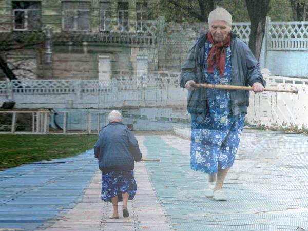 Странные старушки
