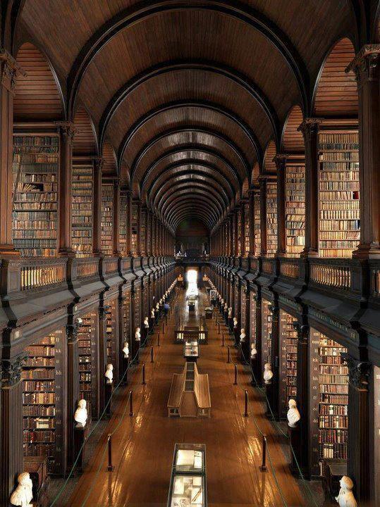 Библиотека в Дублине