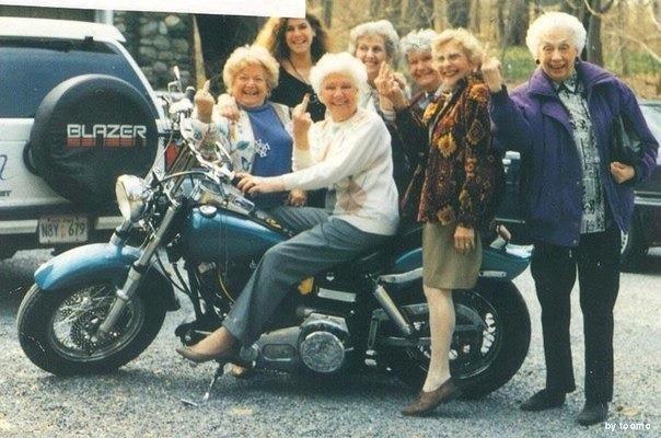 Супер-бабушки