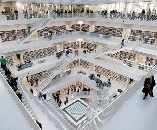 Городская библиотека в Штутгарде