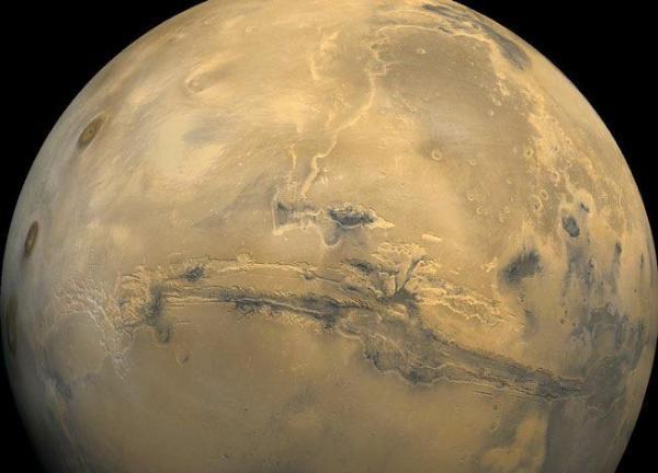 Долина Маринера: Большой каньон на Марсе