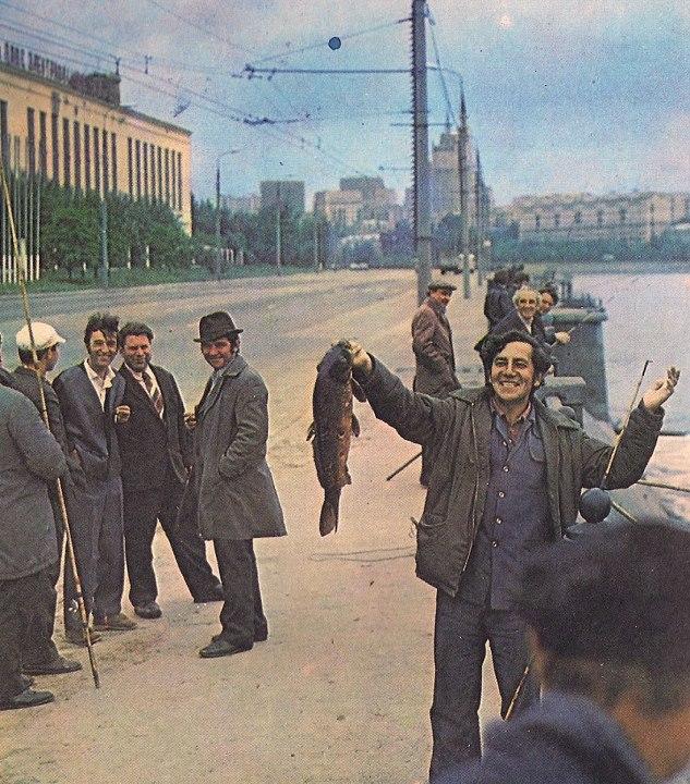 Вот оно - счастье рыбака! ретро фото...
