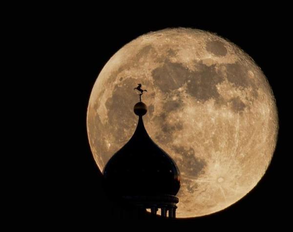 Супер луна в Коннектикуте