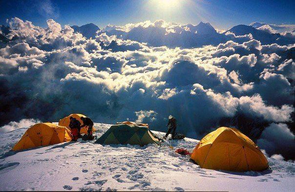 Потрясающе красивые облака