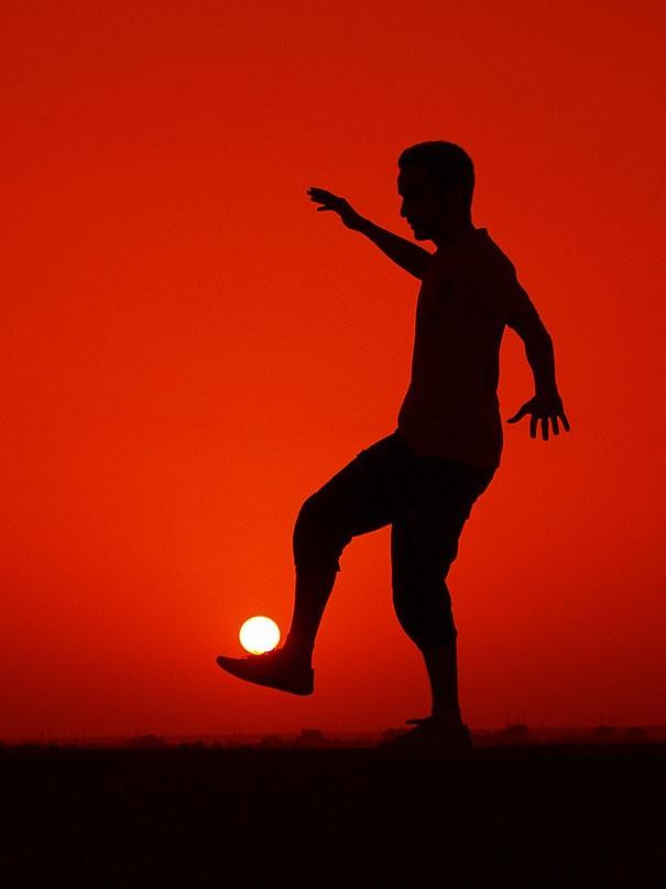 Солнечный футбол