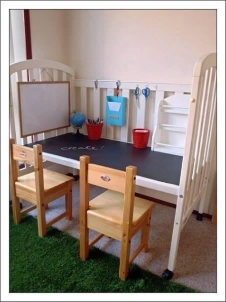 Новая жизнь детской кроватки