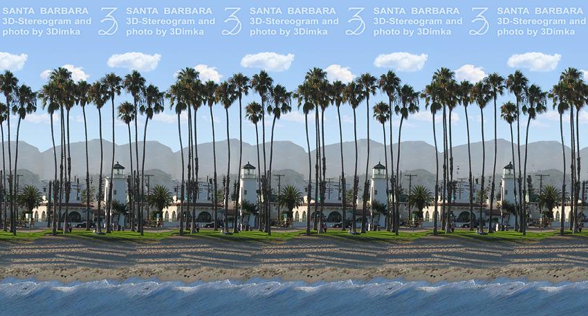 Санта Барбара. Стереограмма