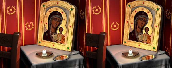 «Казанская Богородица», О. Алексенко Украина, Киев