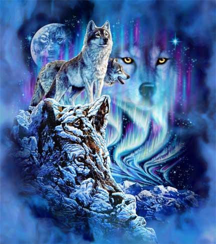 9 волков
