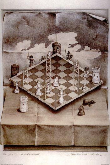 Вариация невозможной шахматной доски