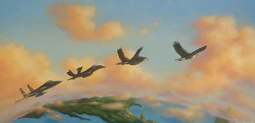 Летящий как орел