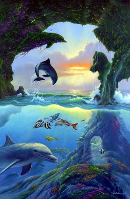 Семь дельфинов