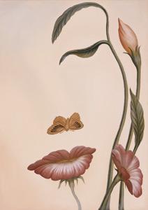 Цветочное лицо