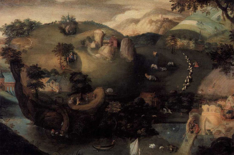 Открытка из брюссельского музея