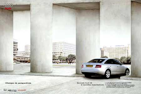 Кадры из рекламного видеоролика Audi A6