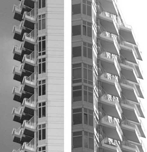 Кривые балконы
