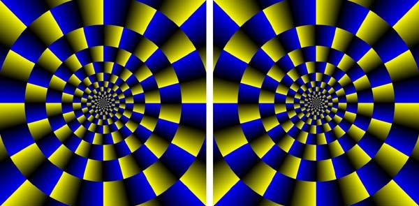 Сине-желтое движение