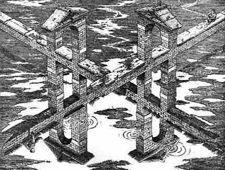 Невозможный мост-перевертыш
