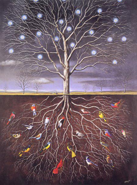 Дерево познания.  Корни и ветви дерева.