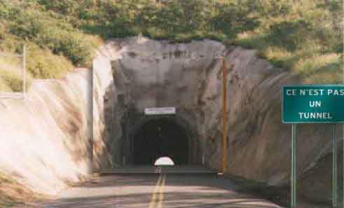 Нарисованный туннель