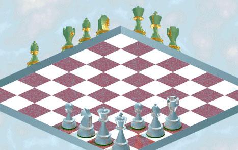 Очередная вариация невозможных шахмат