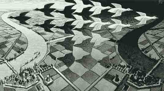Иллюзия Маурица Эшера