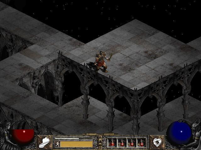 Невозможные конструкции в игре Diablo