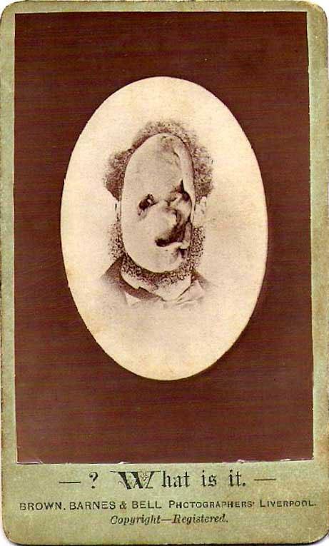 Странный портрет