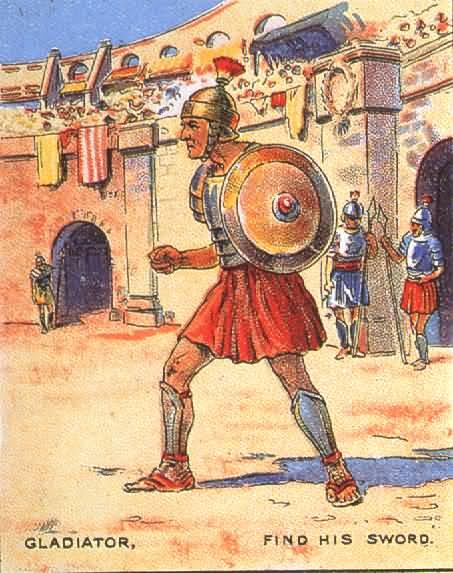 Найди меч гладиатора