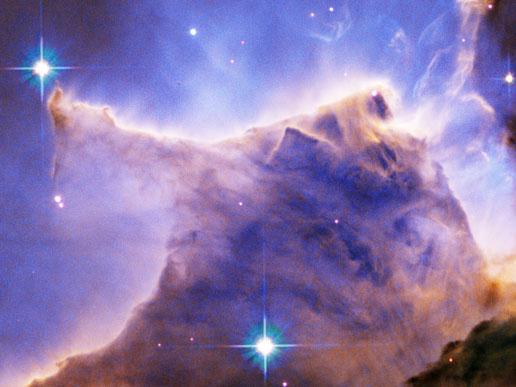 Пылевое скопление в созвездии Орла
