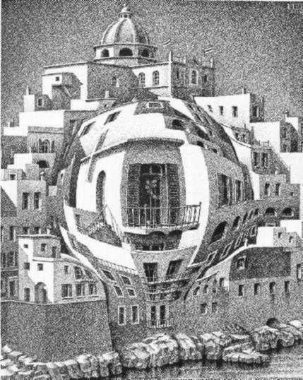 Балконы Эшера