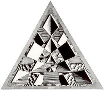 Эшер, треугольник
