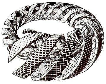 Эшер, бесконечная спираль