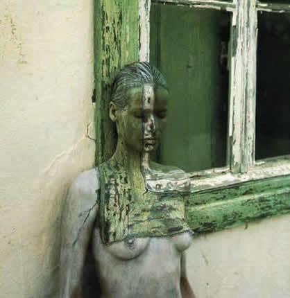 Девушка-окно