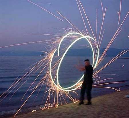 Firework circles