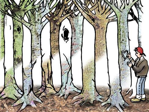 Невозможный лес любви