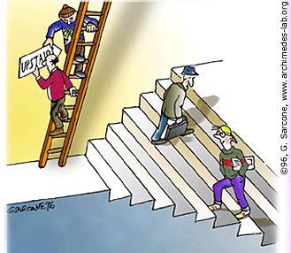 Вариация невозможных лестниц