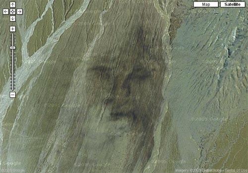 Google нашел образ Иисуса