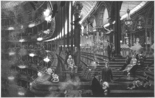 Рисунок Питера Мильтона