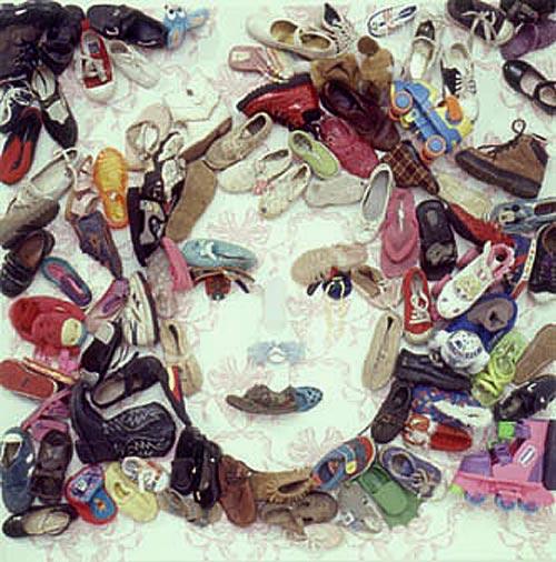 Портрет из тапочек