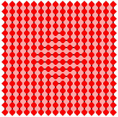 Вариация иллюзии Оучи
