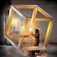 Конструирование невозможного куба