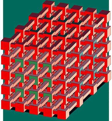 Конструкция из невозможных кубов
